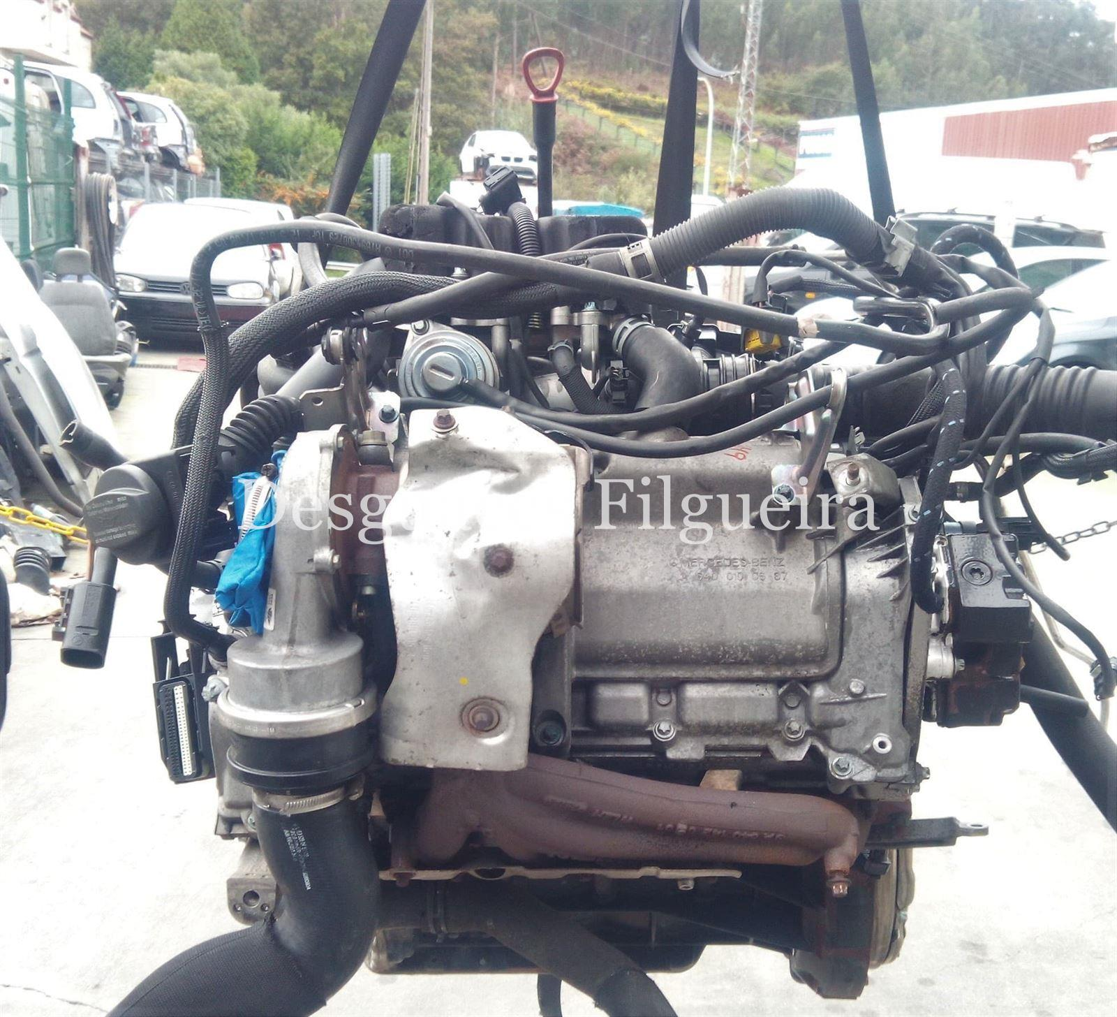 Motor completo Mercedes Clase A 180CDI 640.940 - Imagen 1